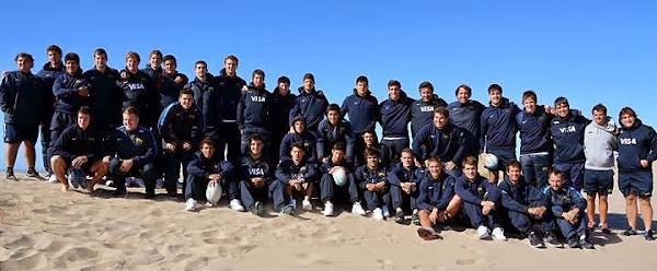 Los Pumitas entrenaron en Puerto Madryn