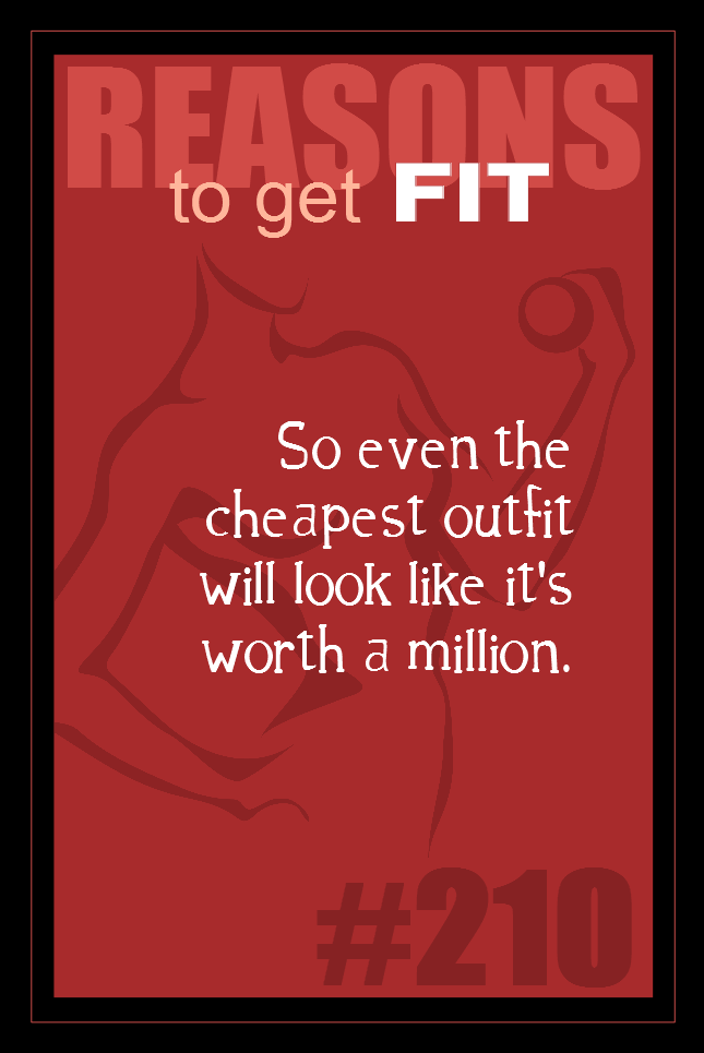 365 Reasons to Get Fit #210