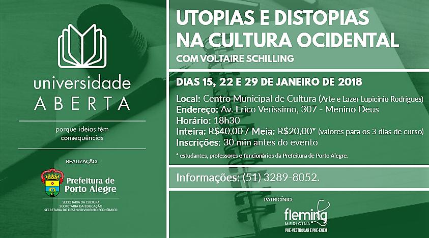 15, 22 e 29 de janeiro: Porto Alegre