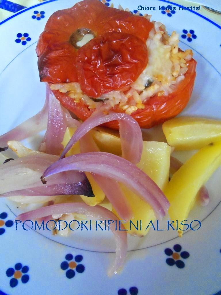 pomodori ripieni al riso