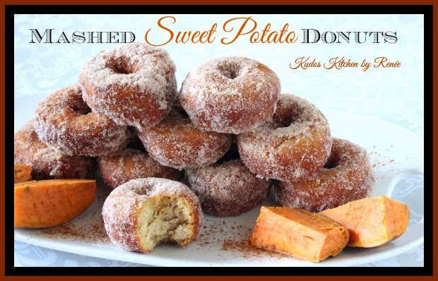 http://www.kudoskitchenbyrenee.com/2014/09/mashed-sweet-potato-donuts-and.html