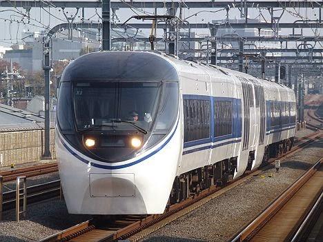小田急電鉄 あさぎり3号 沼津行き JR東海371系 JR東海の名車371系が小田急線内を走り回っていた頃