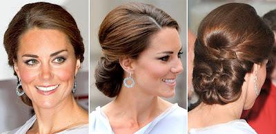 Peinado de boda de kate middleton