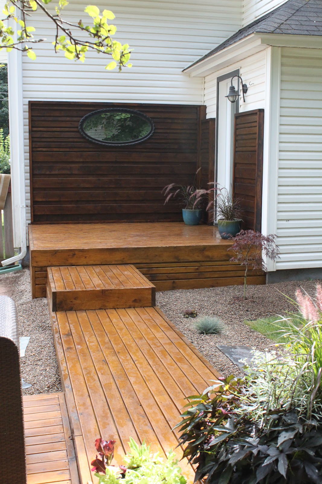 Modern jane backyard transformation part 2 - Decke modern ...