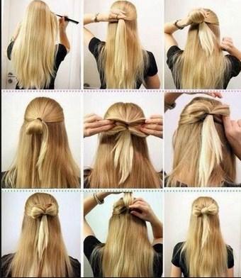 Cara Menata Rambut Ala Barbie Bergelombang Dan Mengembang