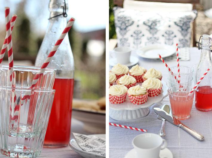Amalie loves Denmark Rhabarber-Sirup und Cupcakes