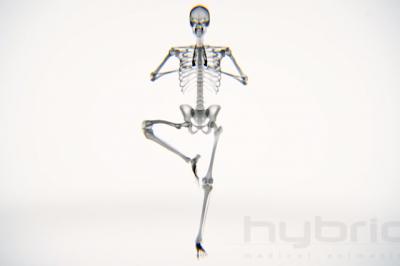 Φοβερό βίντεο δείχνει ανθρώπινο σώμα να κάνει γιόγκα σε μηχανή ακτινών Χ