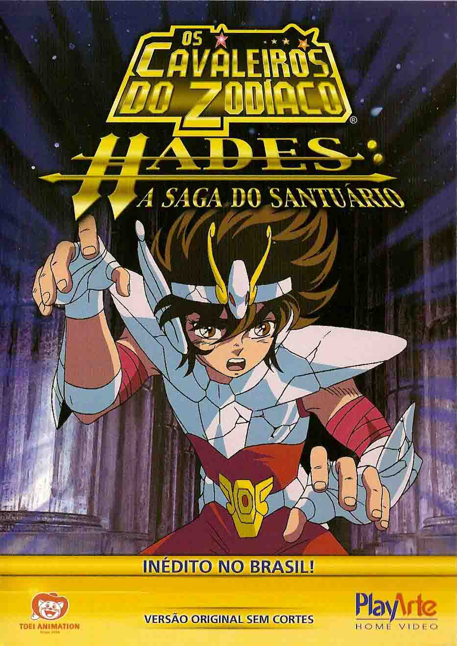 Os Cavaleiros do Zodíaco Hades: A Saga do Santuário Torrent - BluRay 1080p Dual Áudio