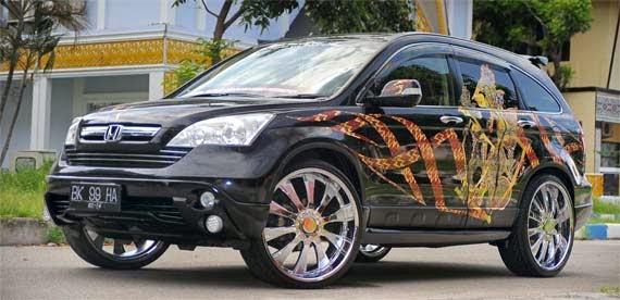 Gambar Modifikasi Honda CRV Terbaru 2014
