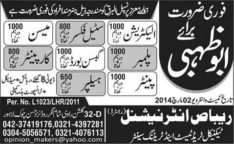 FIND JOBS IN PAKISTAN STEEL FIXER MASION JOBS IN PAKISTAN LATEST JOBS IN PAKISTAN