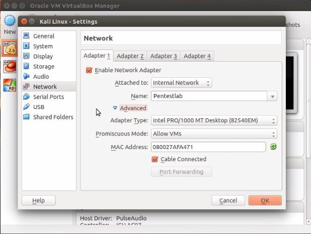 Установка VirtualBox на Ubuntu Linux и настройка сети