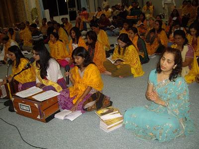 Diwali retreat with Swami Mukundananda at Radha Madhav Dham