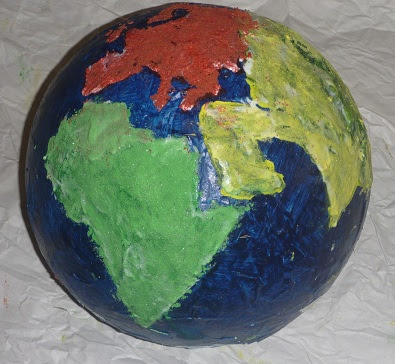 Create a World Map - Geography Activity