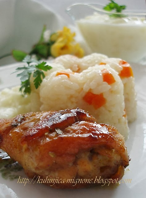 Grilovana piletina sa medom