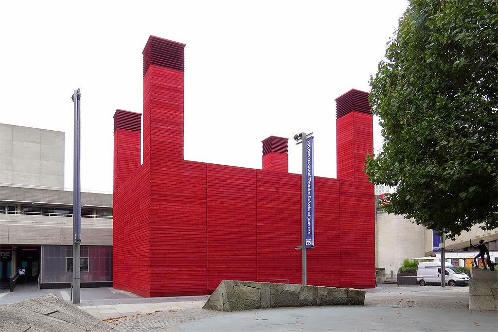 The Shed by Haworth Tompkins, National Theatre, Theatre Square, South Bank, Lambeth, London