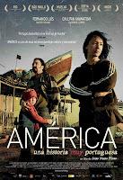 Cartel de la película América, una historia muy portuguesa