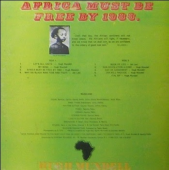 Hugh Mundell Africa Must Be Free By 1983