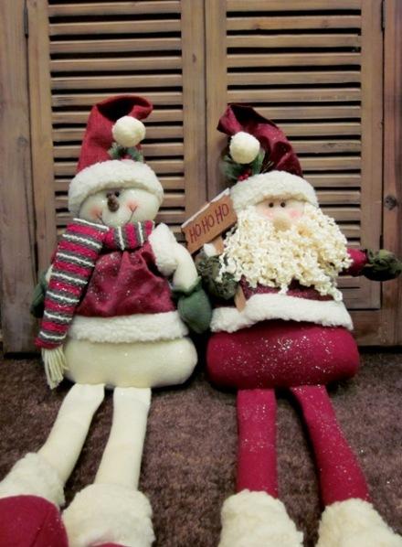 Muñeco de nieve. PapaNoel