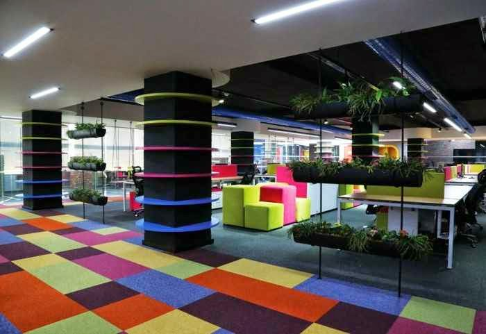 Attractive and creative office design ideas and galleries for Crazy interior designs