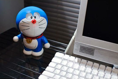 my doraemon 30 collectible bandai robo
