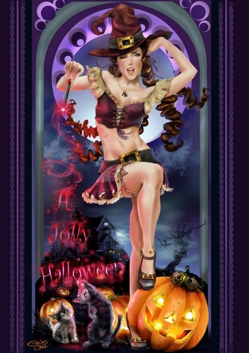 Scène de sexe d'halloween