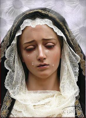 Santa Mara Madre de Dios y Madre nuestra Imgenes Virgen Dolorosa