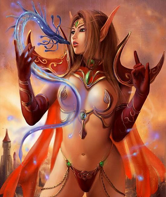 Elfo de sangre - Raza - World of Warcraft -