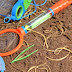 Dirt & Worms Sensory Play
