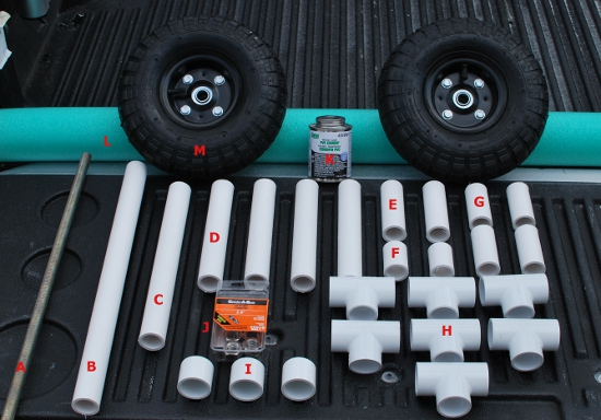 Palmetto Kayak Fishing Diy Bulletproof Kayak Cart Build