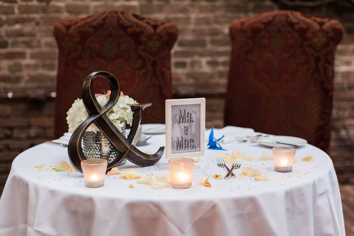 Firehouse restaurant wedding
