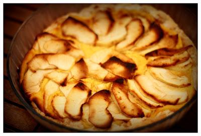 Imagen: Tarta de manzana.