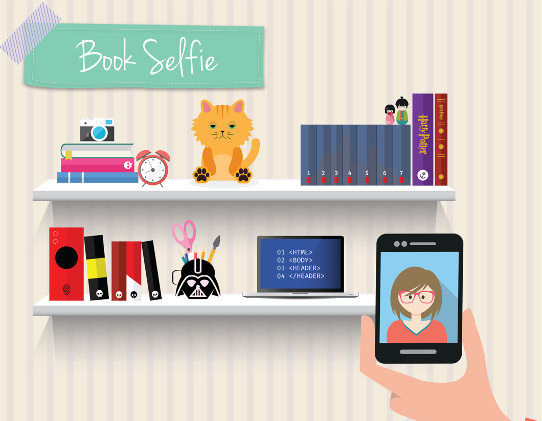 Book Selfie