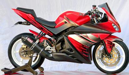 6 Foto Gaya Modifikasi Yamaha Vixion Terbaru