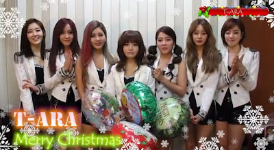 T-ara Ucapkan Selamat Natal Bagi Semua Queen's