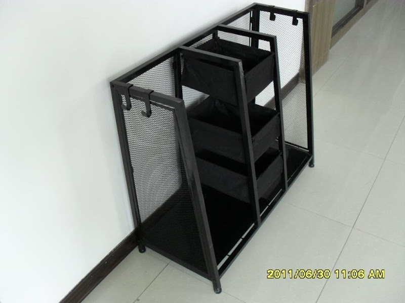 Double Golf Bag Storage Rack