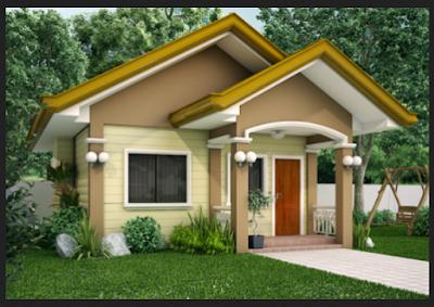 rumah minimalis type 36 tampak depan