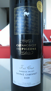 2008 Cat Amongst The Pigeons Fat Cat Shiraz Cabernet from Barossa Valley, South Australia - Wine Review