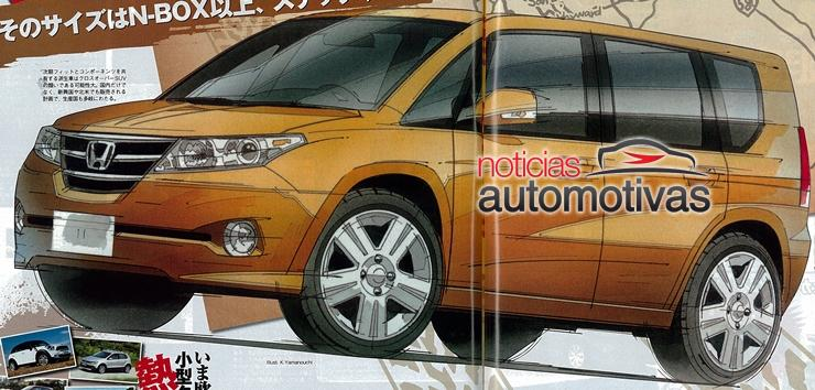 2014 Honda FIT CUV????