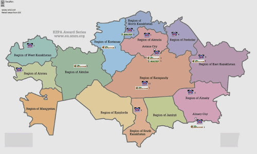 Retail maps from CIS and Baltic February 2014