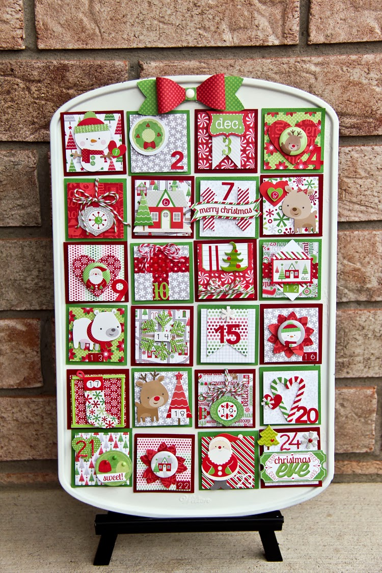 Luv-a-Lot Land: Muffin Tin Advent Calendar with Doodlebug ...