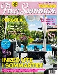 Vår trädgård är med i Fixa Sommar nr 2 2014