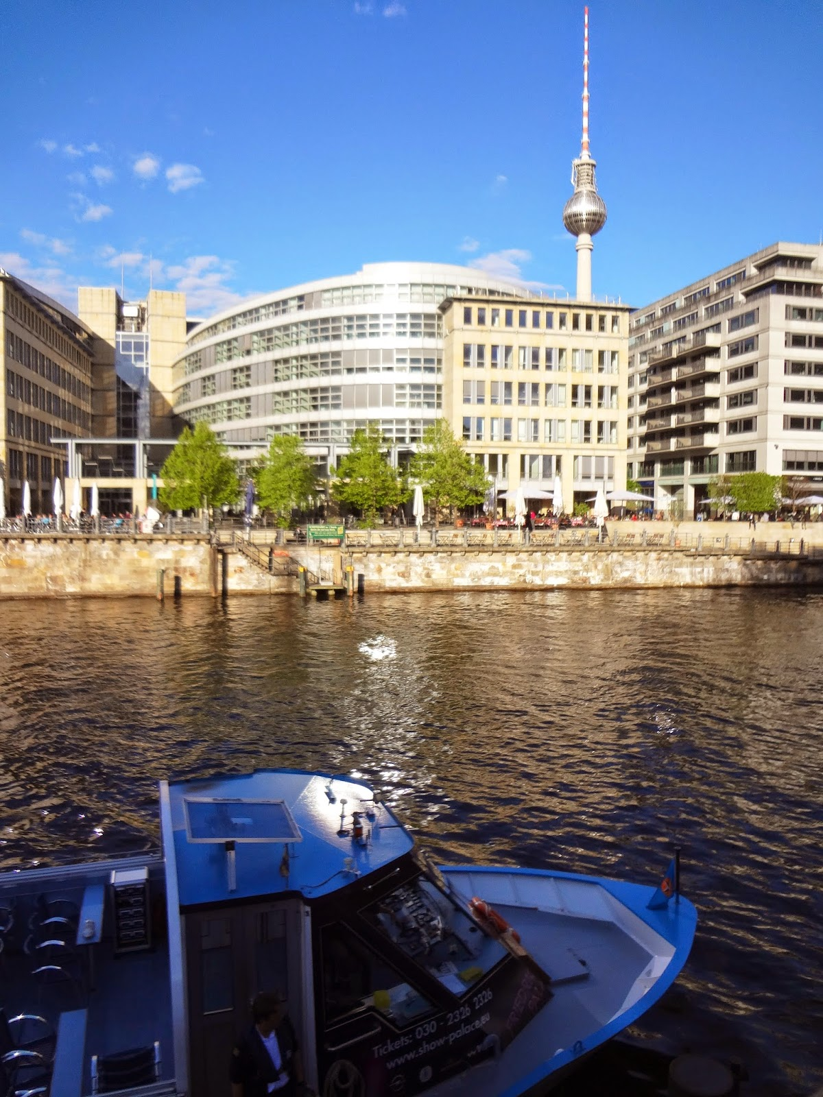 Berlin Boat and Fernsehturm