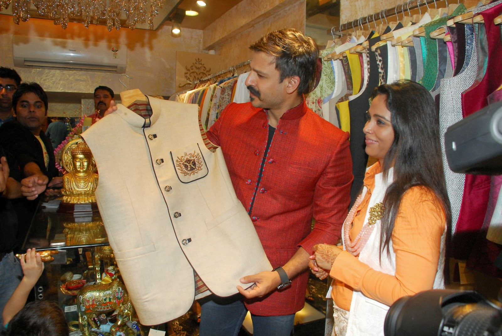 Vivek Oberoi at Launch of Designer Kirti Rathore's Menswear Studio