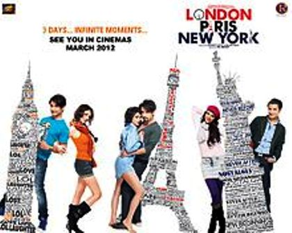 Watch London, Paris New York (2012) Hindi Movie Online