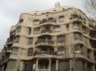 La Pedrera Casa Milà Gaudí Barcelona Passeig de Gràcia