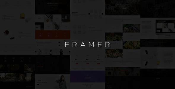 Framer - Component-Based Multipurpose Framework
