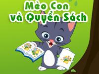 Mèo con và quyển sách - Chuyện kể cho bé