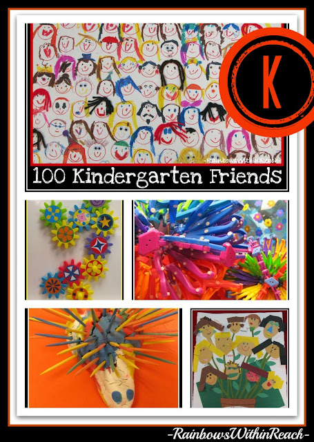 photo of: Kindergarten Highlights: Artwork, Manipulatives and 100 Days