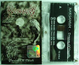 Dream of Death Narsamum, Narsamum Death Metal Band from Malaysia, Narsamum, Death Metal Band from Malaysia