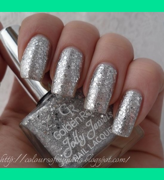 This cool looking for nail design ... view full size - Nails Design Silver ~ Beautify Themselves With Sweet Nails